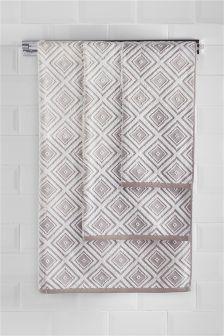 Calm House Geo Towels