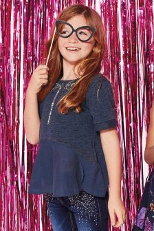Sequin Dragonfly Top (3-16yrs)