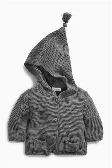 Hooded Cardigan (0mths-2yrs)