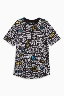 Graffiti All-Over-Print T-Shirt (3-16yrs)