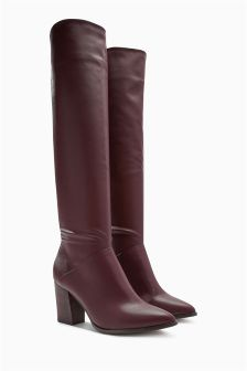Western Slouch Long Boots