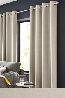 Textured Slub Studio* Curtains