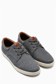 Canvas Derby Lace-Up