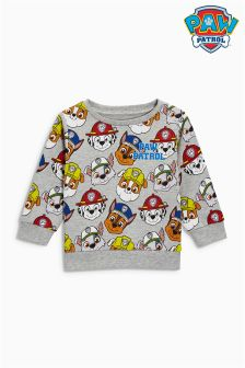 Paw Patrol All Over Print Crew Neck Top (3mths-6yrs)