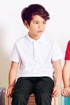 Koszulki polo w dwupaku (3-16 lat)