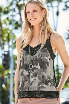 Floral Embroidered Cami