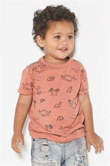 Embellished Dino T-Shirt (3mths-6yrs)