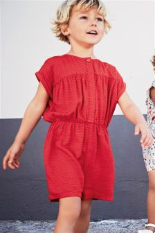 Pin Spot Playsuit (3mths-6yrs)