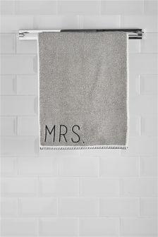 Полотенце для рук Mr и Mrs