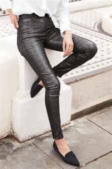 Glitter Skinny Jeans