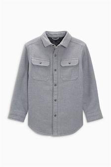 Podložena karirasta srajčna jakna z dolgimi rokavi Borg (3–16 let)
