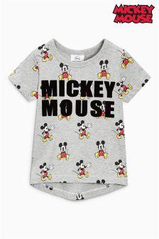 Футболка с коротким рукавом и флоковым принтом Mickey Mouse™ (3 мес.-6 лет)