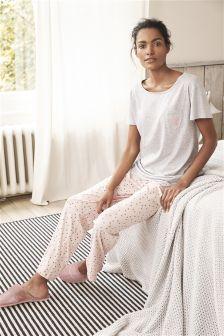 Cotton Jersey Pyjamas