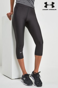 Under Armour Black HeatGear® Armour Capri