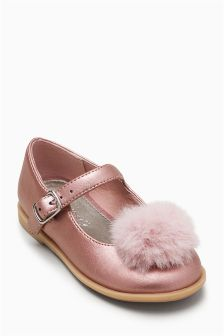 Pom Mary Jane Shoes (Younger Girls)