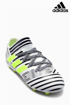 adidas Black/Silver Nemeziz 17.3 Firm Ground Football Boot