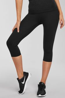 Cropped High Waisted Sports Leggings