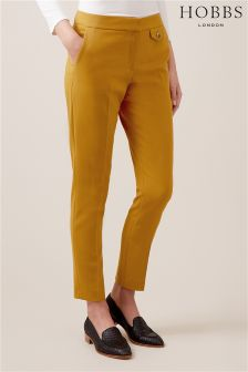 Hobbs Gold Yellow Louise Trouser