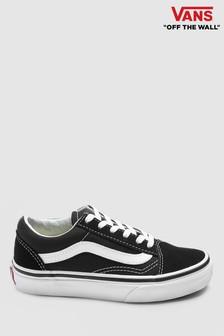 Czarno-białe buty sportowe VansOld Skool