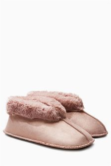 Low Cut Slipper Boots
