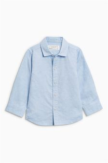 Chambray Long Sleeve Shirt (3mths-6yrs)