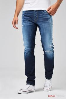 Зауженные джинсы Replay® Anbass Hyperflex