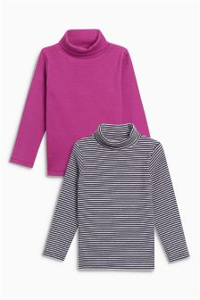 Roll Necks Two Pack (3mths-6yrs)