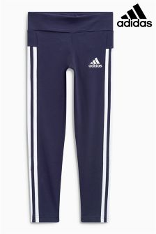 adidas Navy 3 Stripe Legging