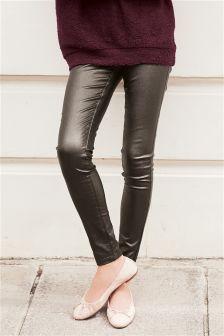 Pull-On Coated Leggings