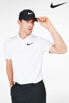 Nike Golf White Breathe Polo