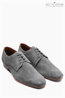Suede Textured Derby