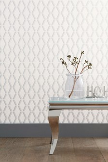 Paste The Wall Luxe Beaded Geo