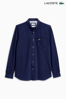 Lacoste® Navy Oxford Shirt