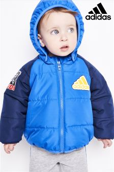 adidas Infant Blue Padded Jacket