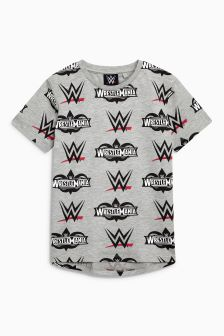 WWE All Over Print T-Shirt (3-16yrs)