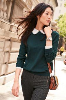 Peter Pan Collar Sweater
