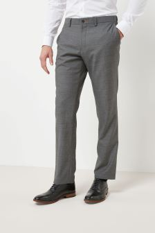 Slim Fit Wool Jean Style Trousers