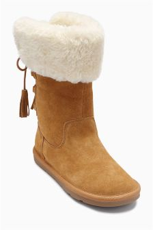 Tall Pull-On Boots (Older Girls)