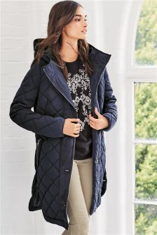 Long Quilt Jacket