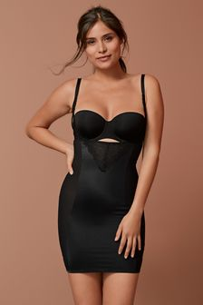 Firm Control Lace Wear Your Own Bra Slip