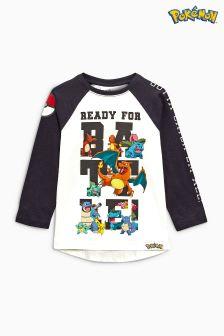 Long Sleeve Pokémon™ T-Shirt (3-14yrs)