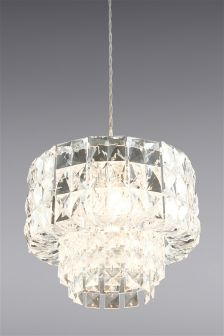 Lighting ceiling lights clear ceilinglights next ireland ava easy fit pendant mozeypictures Gallery