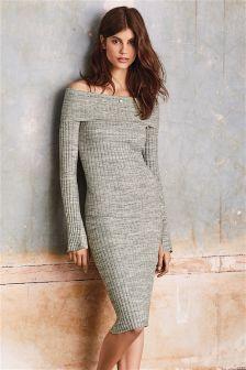 Bardot Knitted Dress