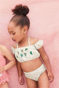 Cacti Embroidery Bikini (3mths-6yrs)