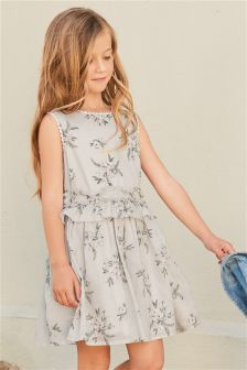 Printed Floral Dress (3-16yrs)