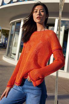 Stitch Open Sweater