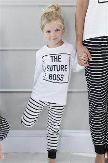 Girls Future Boss Snuggle Pyjamas (0mths-16yrs)
