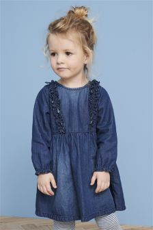 Ruffle Dress (3mths-6yrs)