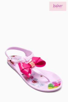 Baker By Ted Baker Younger Girls Pink Jelly Shoe