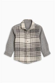 グリンドルチェックシャツ (3 か月~6 歳)
